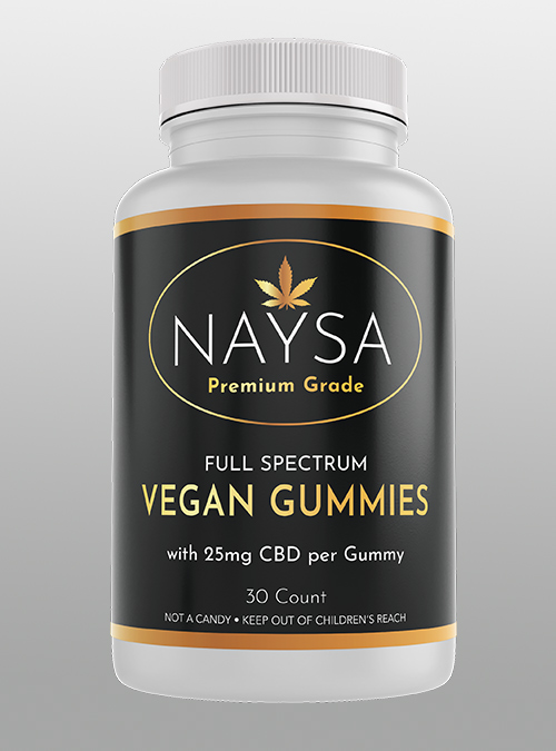 Naysa Vegan Gummies Full Spectrum - Herbane Health