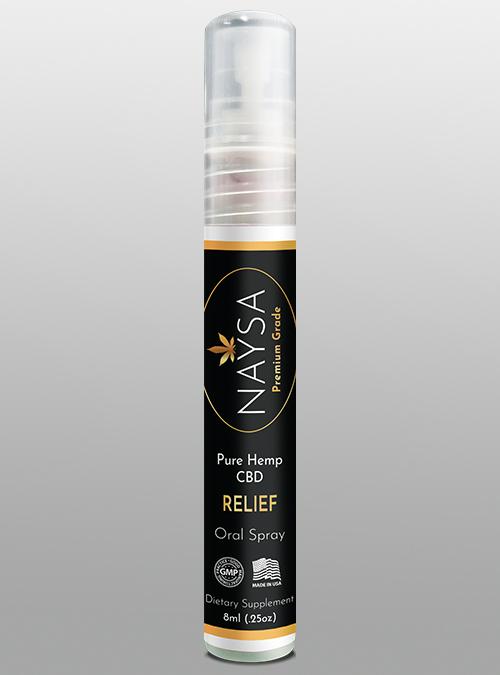 CBD Oral Sprays - Relief