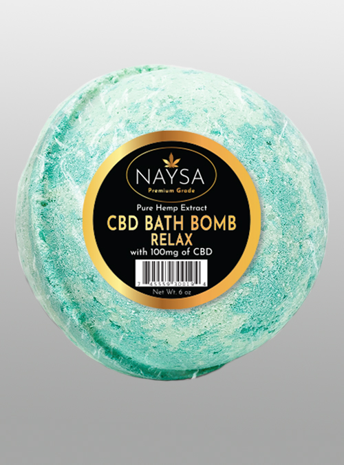 NAYSA CBD Bath Bomb Relax