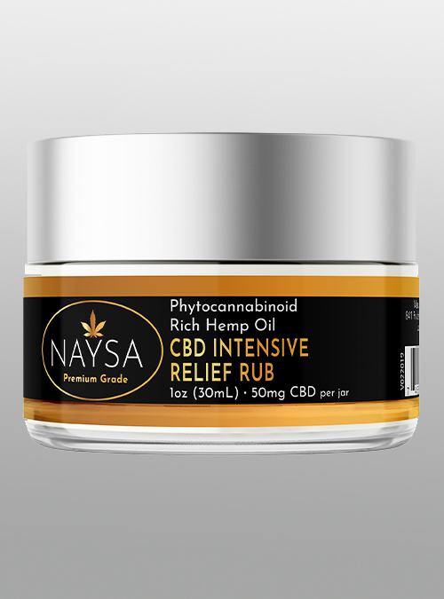 cbd- Intensive Relief Rub