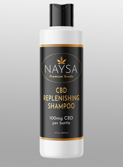 Naysa CBD Replenishing Shampoo 100mg - Herbane Health