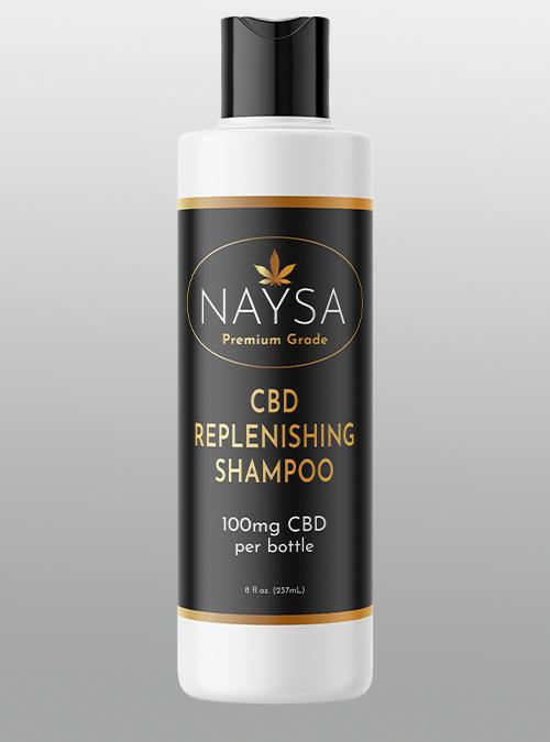 Naysa CBD Replenishing Shampoo 100mg - Herbane Health