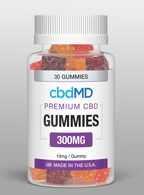 cbd Gummies 300mg CBD oil - 30ct - cbdMD Herbane Health