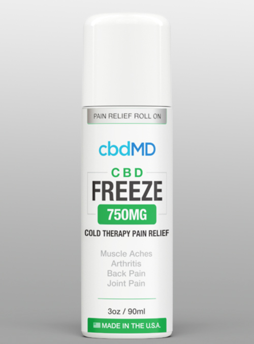 cbdmd Freeze Roll On Gel 750 Herbane Health