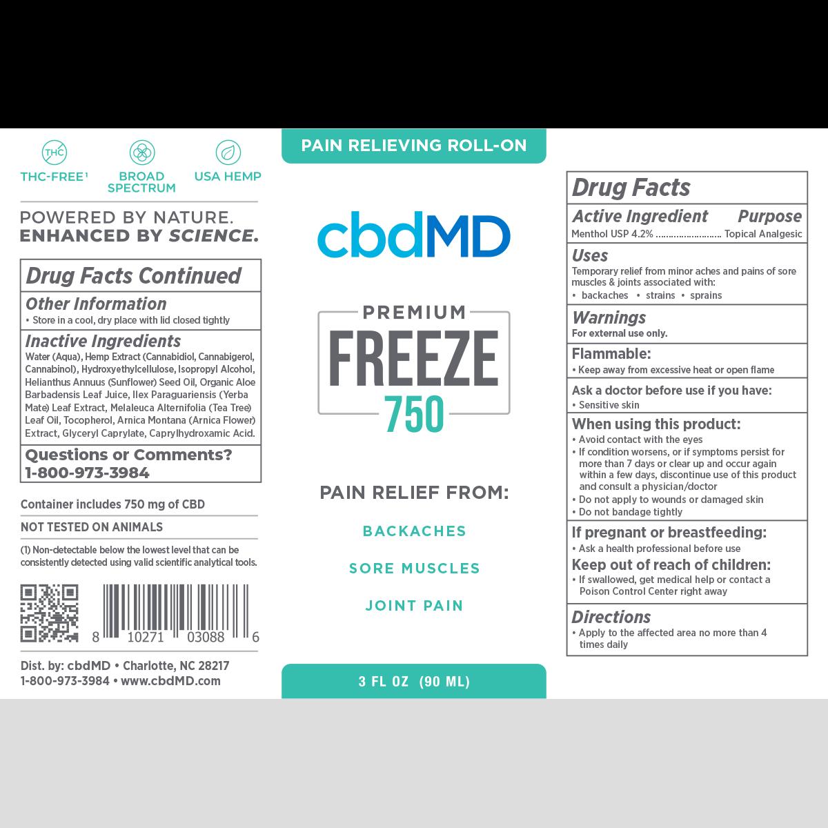 cbdmd_roll-on_freeze_750_label_Herbane_Health