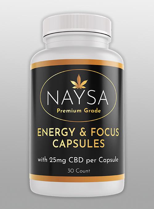 Energy and Focus CBD Capsules
