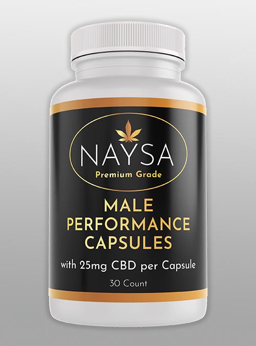 Male Performance CBD Capsules
