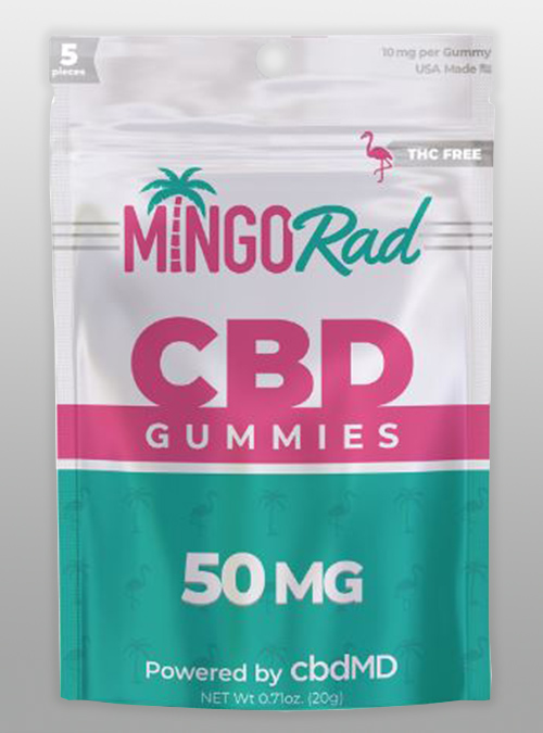 CBD gummies MingoRad Mingo Rad cbdMD 50mg