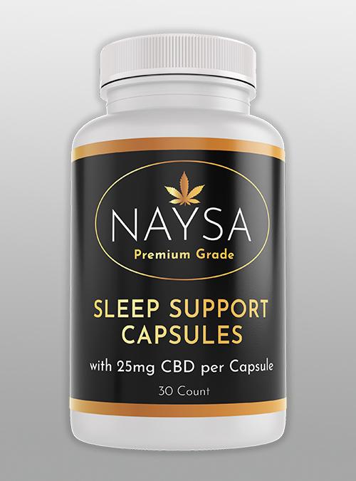 Sleep Support CBD Capsules