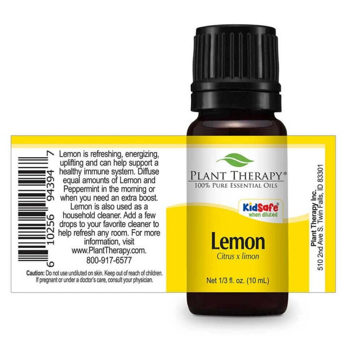 Lemon Essential Oil uses Therapy - Herbane Health
