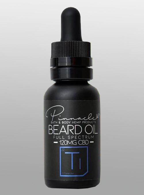 CBD Beard Oil Titanium