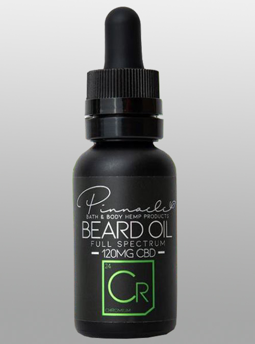 CBD beard oil chromium