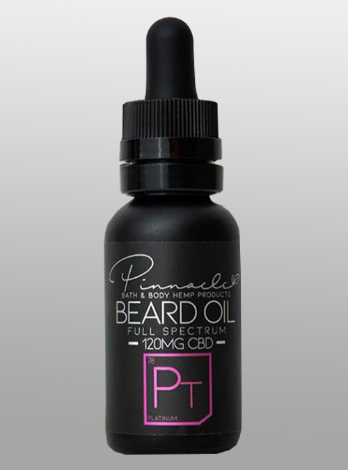 cbd beard oil platinum