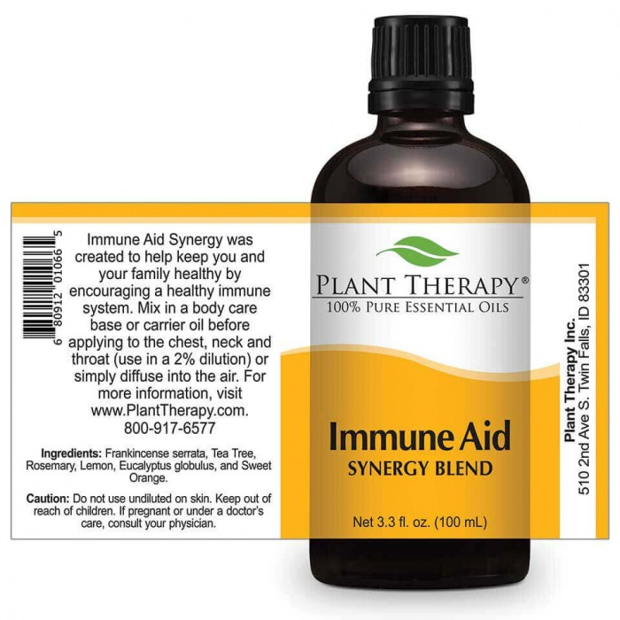 Immune Aid SYNERGY Essential Oil Blend - Herbane Health