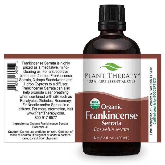 Frankincense serrata essential oil organic uses- Herbane Health