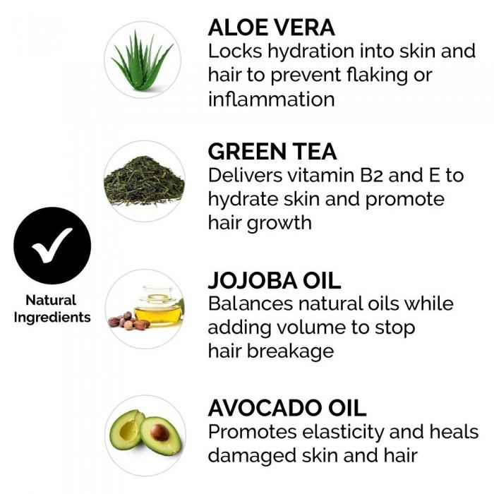 Beard Conditioner and Softener Zeus Vanilla Rum - natural ingredients - Herbane Health
