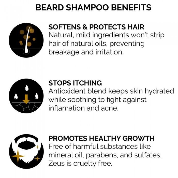 Beard Shampoo Use Benefits - Herbane Health