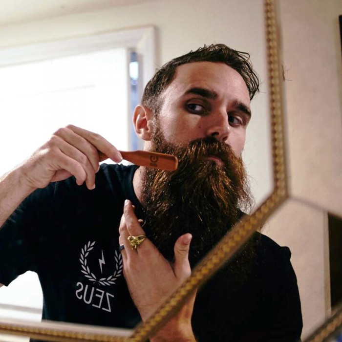 How to use Beard Brush - Herbane Health