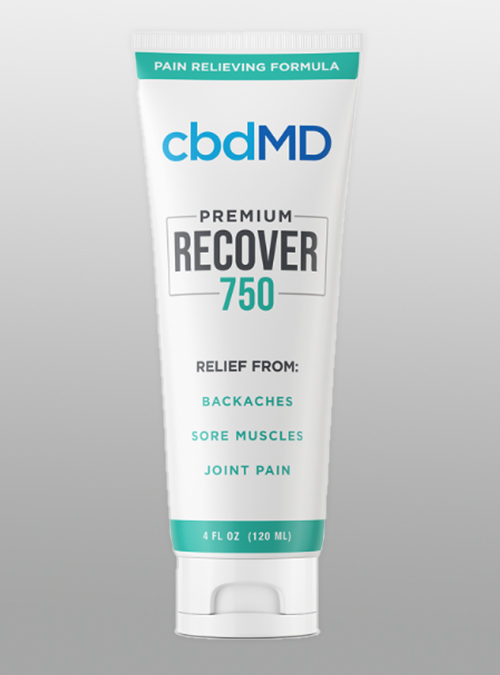 CBD Inflammation cream Recover 750mg - Herbane Health
