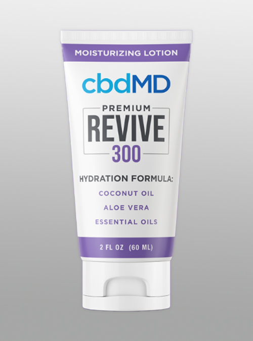 cbd 300mg revive hydration cream moisturizing lotion cbdMD