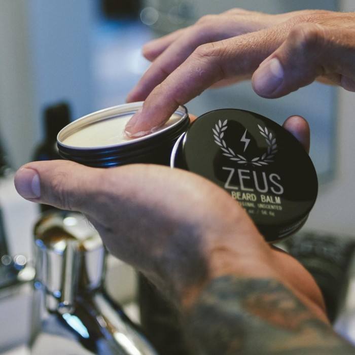 beard balm conditioner uses - zeus - Herbane Health