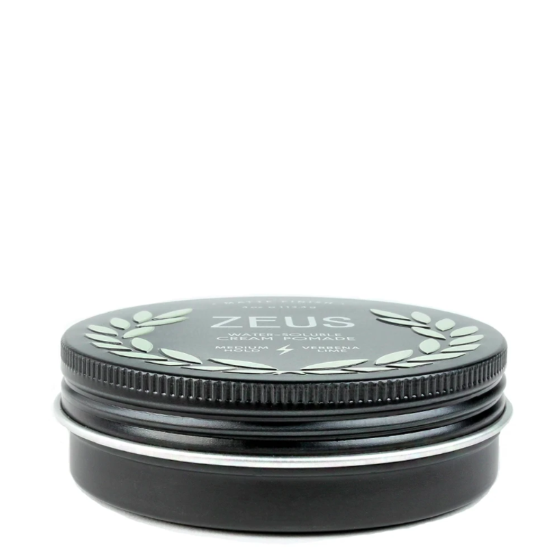 Hair Cream Pomade Medium Hold - Matte look - Zeus - Natural - Herbane