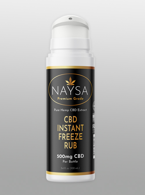 cbd instant freeze 500mg naysa
