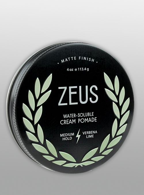 Hair Cream Pomade Medium Hold - Zeus - Natural - Herbane
